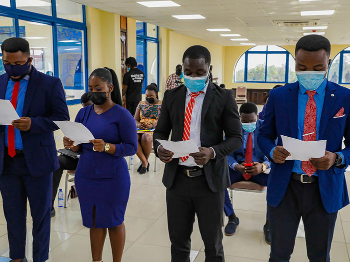 Swearing in of SRC executives